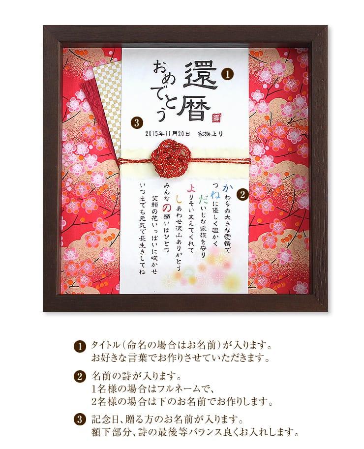 玉手箱〜名前の詩〜 寿・紅梅