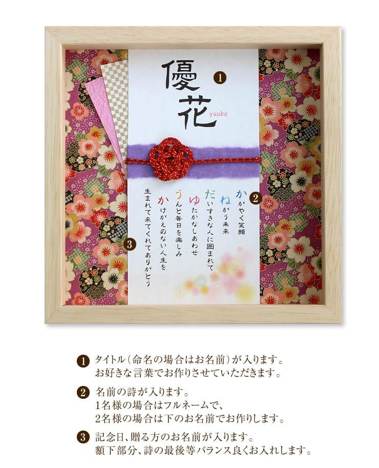 玉手箱〜名前の詩〜 寿・さくら